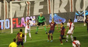 El Rayo-Barça, el partido más escuchado