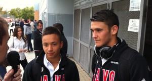 Leganés 0-5 Juvenil A con Juancho y Edu