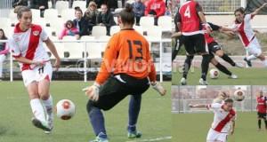 Crónica del Femenino 1-1 Sp.Cajasol Huelva con Pilar García