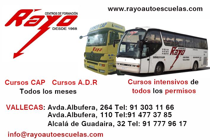 Publicidad Autoescuelas Rayo