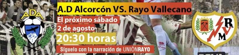 AD Alcorcón - Rayo Vallecano