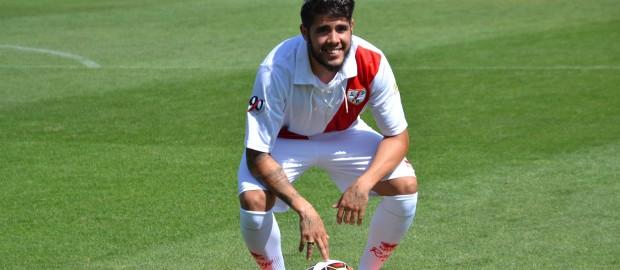 Presentación de Pozuelo como jugador del Rayo