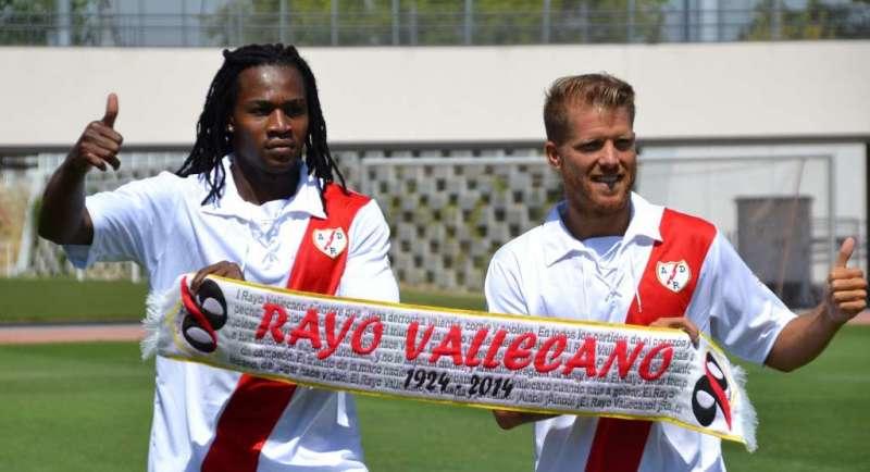 Presentación de Manucho y Morcillo como jugadores del Rayo ...
