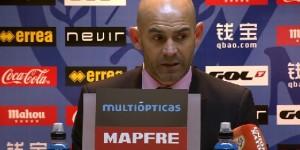 """Paco Jémez tras el Rayo 1-3 Espanyol: """"No estamos al nivel de la Primera División"""""""