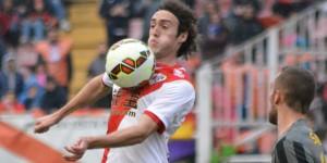 Raúl Baena, jugador más votado ante el Málaga