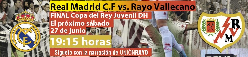 Sigue el Real Madrid – Juvenil A en Unión Rayo