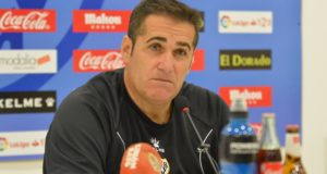 """Sandoval antes del Tenerife – Rayo: """"Vamos a Tenerife con garantías"""""""