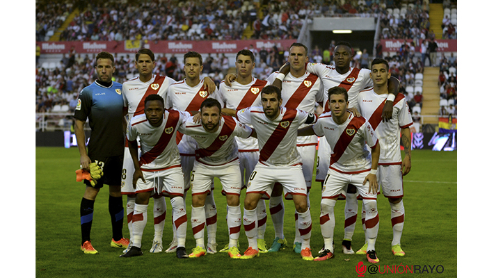 Once Rayo 3-0 Cádiz