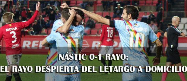 Crónica del Nástic 0-1 Rayo