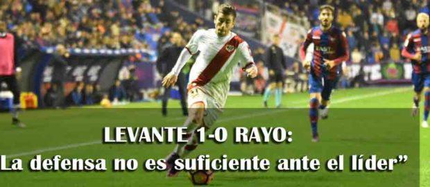 Crónica del Levante 1-0 Rayo