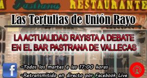 'Vuelven' las tertulias de Unión Rayo