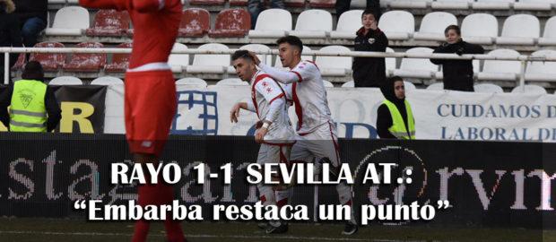 Crónica del Rayo 1-1 Sevilla Atlético
