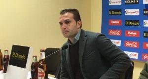 Rubén Baraja tras el Rayo Vallecano 1-1 Elche
