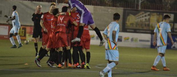 Crónica del Atlético Pinto 3-0 Rayo B