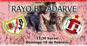 Previa: Rayo B – Unión Adarve