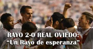 Crónica: Rayo 2-0 Real Oviedo