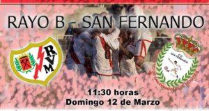 Previa: Rayo B – San Fernando