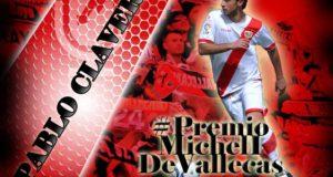 Clavería, jugador más votado ante el Cádiz