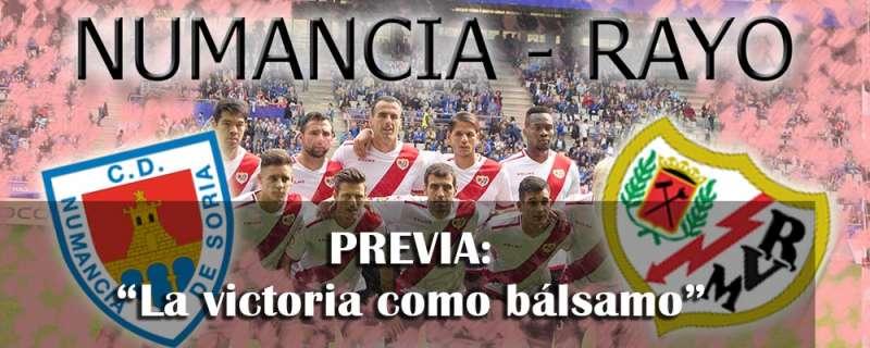 Previa: CD Numancia – Rayo
