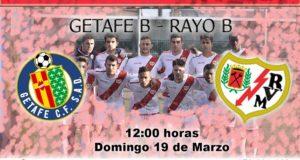 Previa: Getafe B – Rayo B