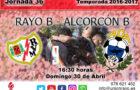Previa: Rayo B – Alcorcón B